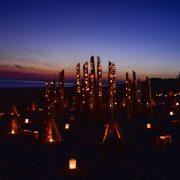 竹灯りの宵